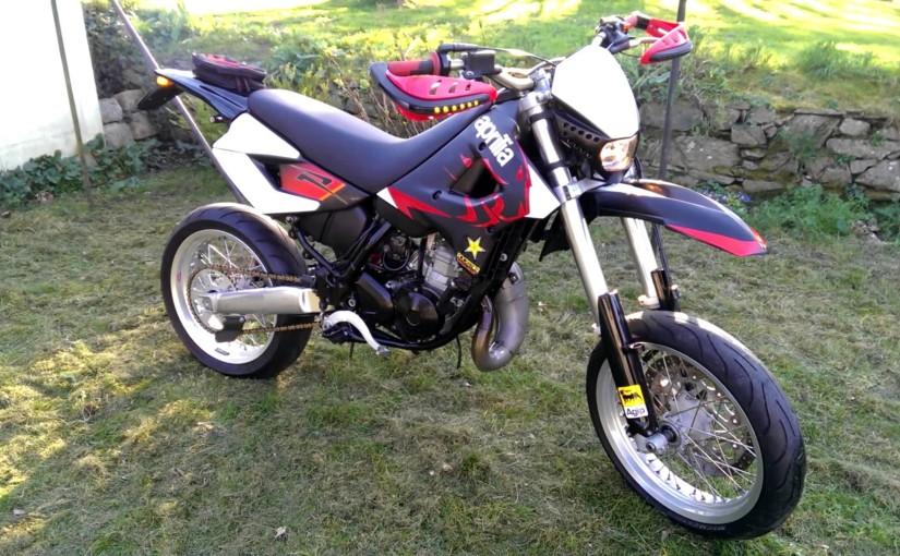 Moto Aprilia ETX 125