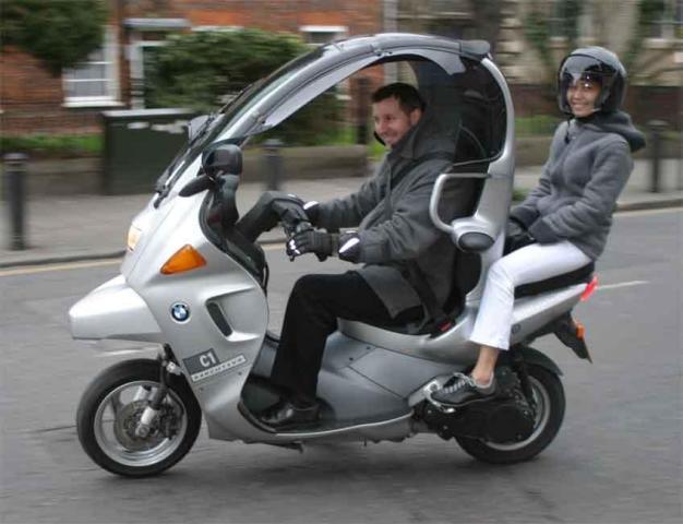 magnifique moto bmw c1
