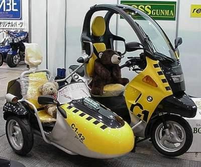 exemple moto bmw c1
