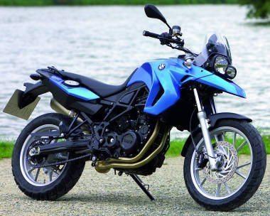 Moto BMW F 650 GS