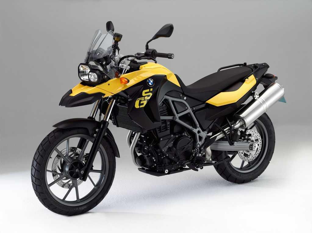 vue moto bmw f 650 gs