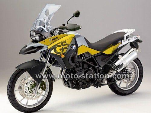image moto bmw f 650 gs