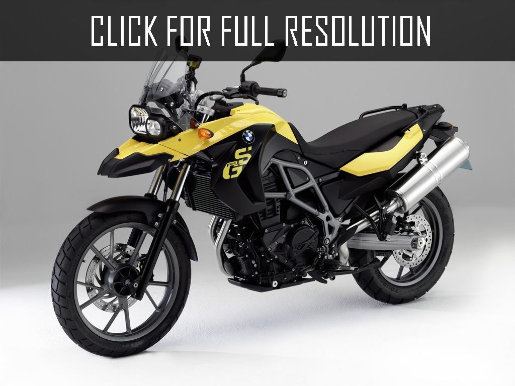 exemple moto bmw f 650 gs