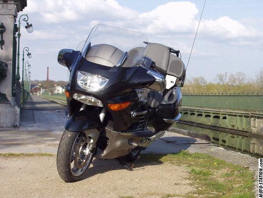 photographie moto bmw k 1200 lt fl