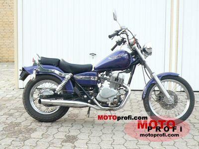 Moto Honda CA 125 Rebel