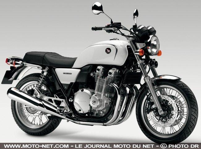 vue moto honda cb 1100