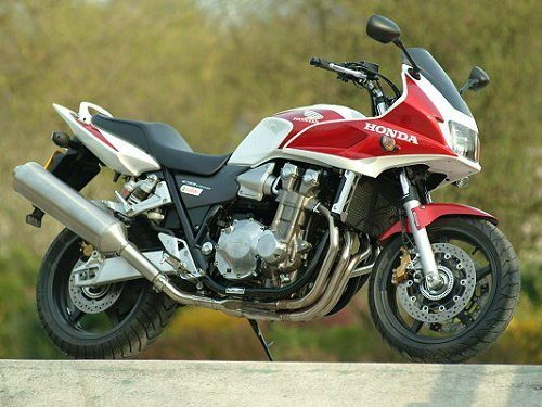 photographie moto honda cb 1300