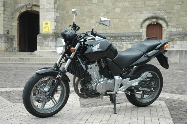 vue moto honda cbf 500