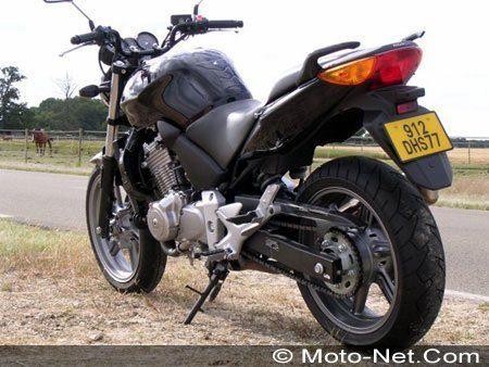 modèle moto honda cbf 500