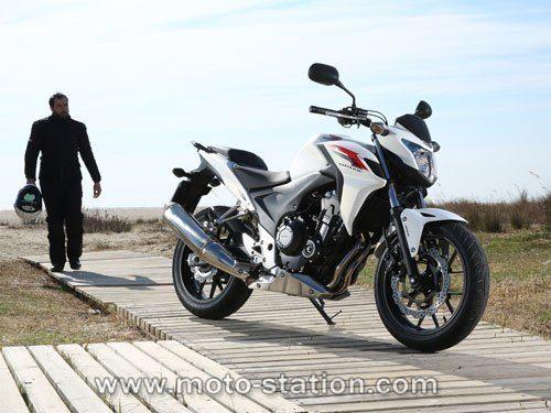 superbe moto honda cbf 500