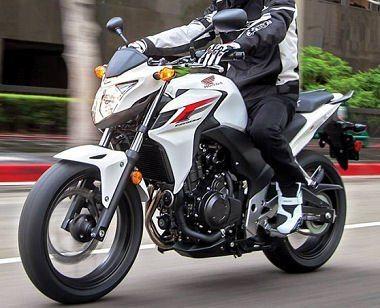 photographie moto honda cbf 500