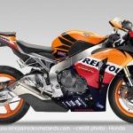 magnifique moto honda cbr 1000