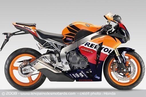 Moto Honda CBR 1000