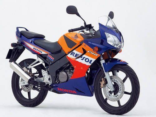 modèle moto honda cbr 125 repsol