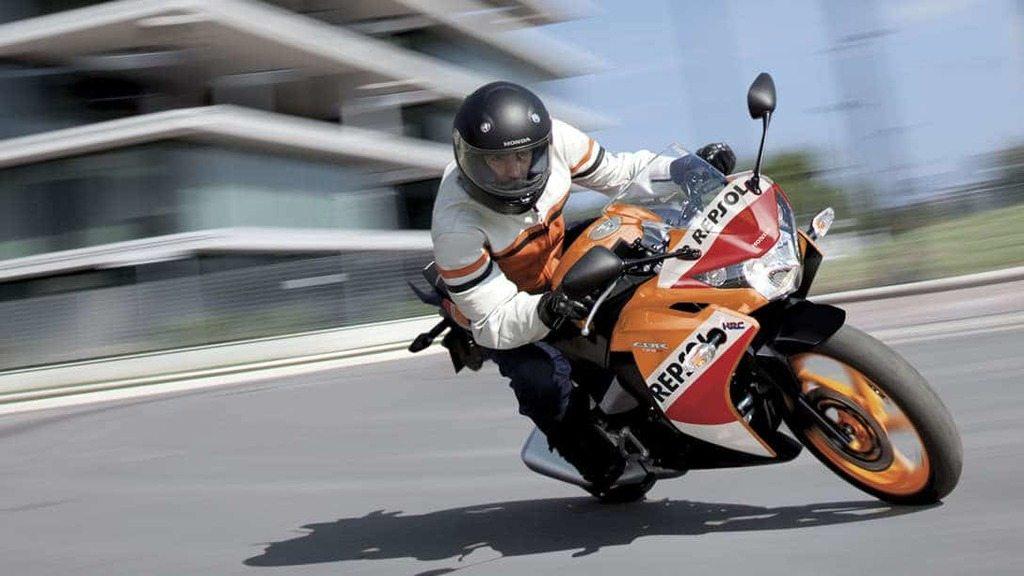 photographie moto honda cbr 125 repsol