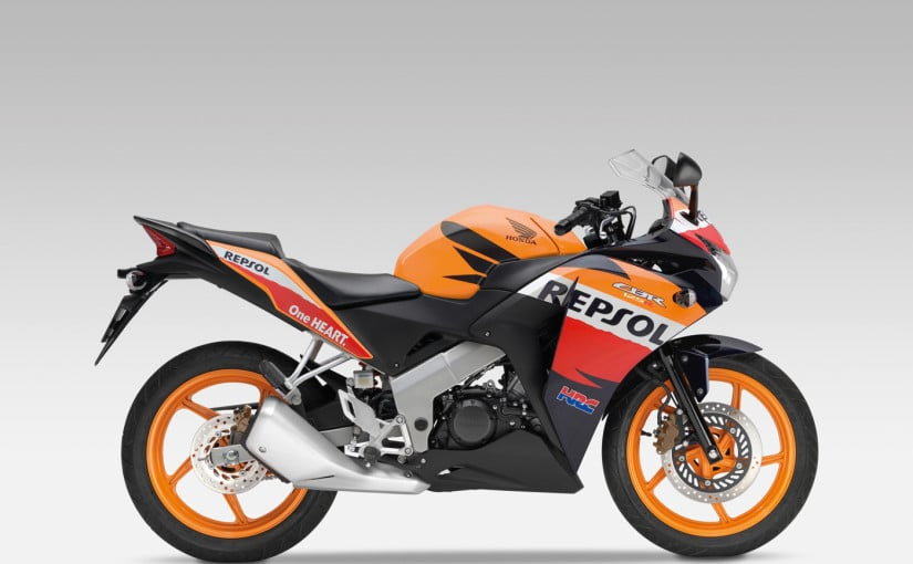 Moto Honda CBR 125 Repsol