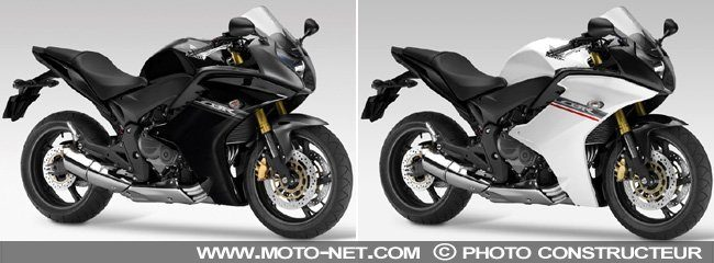 magnifique moto honda cbr 600 f