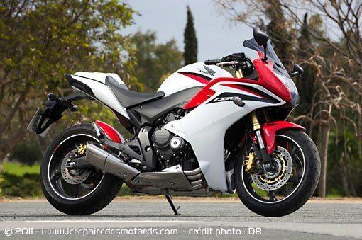 modèle moto honda cbr 600 f