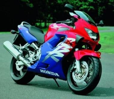 photographie moto honda cbr 600 f