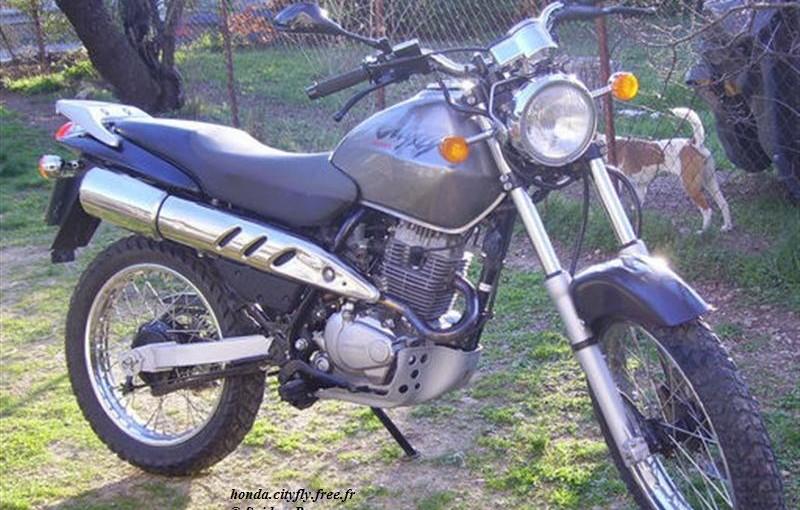 Moto Honda CLR 125 Cityfly