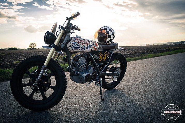 exemple moto honda clr 125 cityfly