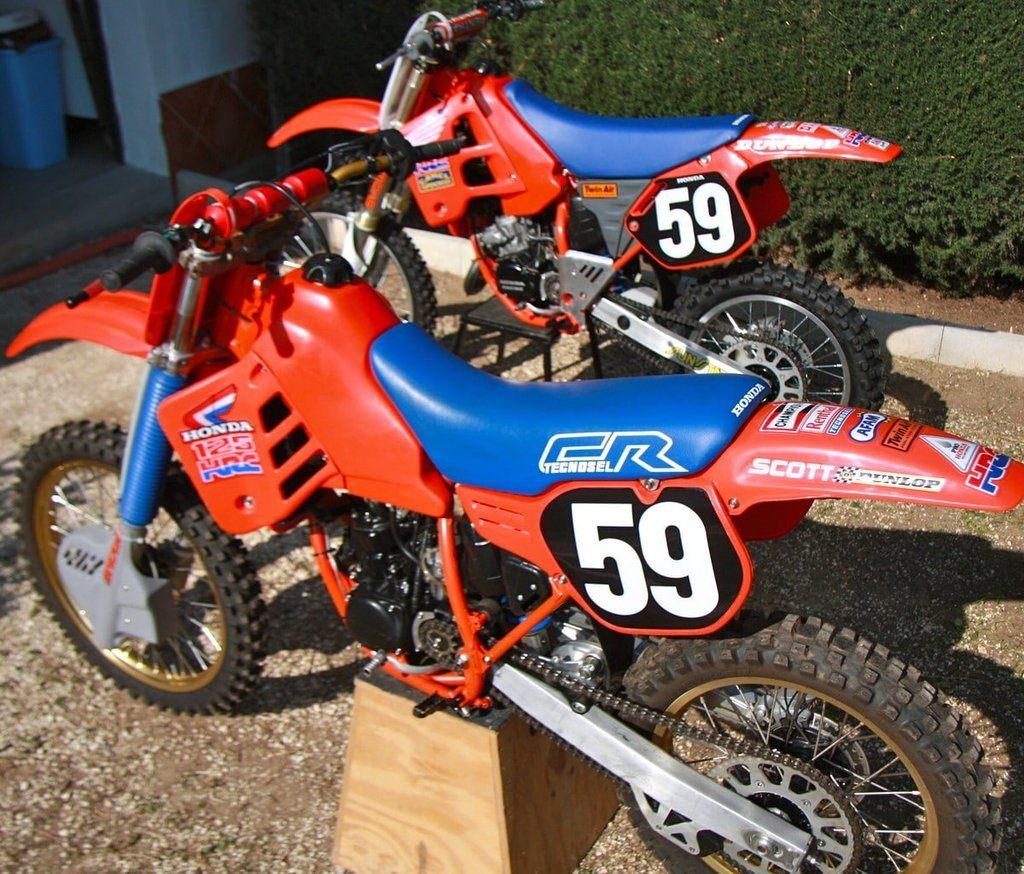 magnifique moto honda cr 125