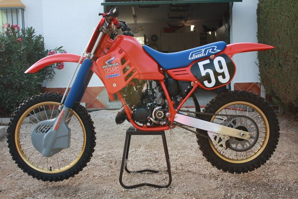 exemple moto honda cr 125