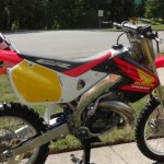 magnifique moto honda cr 500