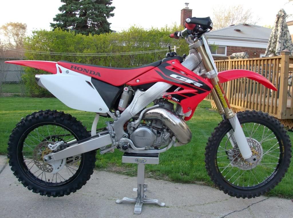 exemple moto honda cr 500