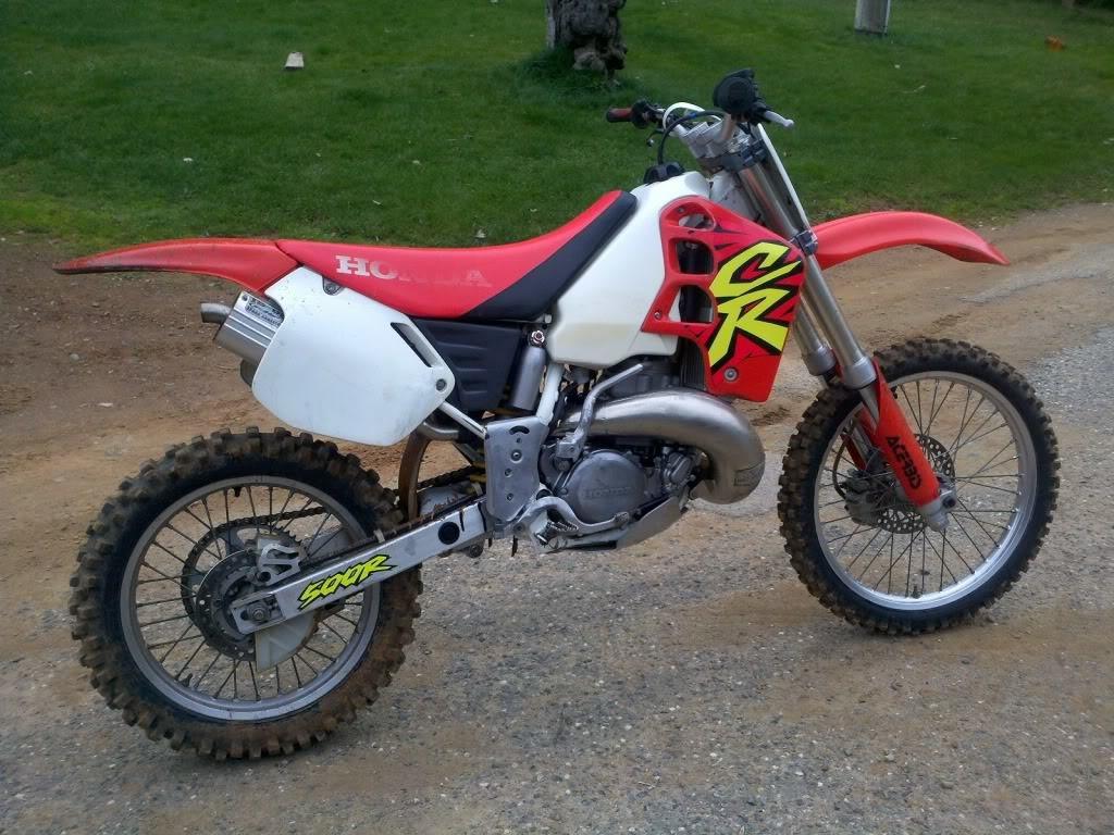 superbe moto honda cr 500