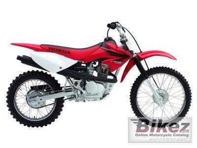 photographie moto honda crf 100