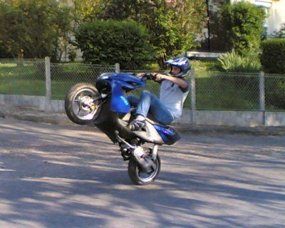 Le wheelie
