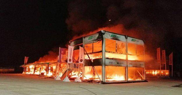 Les causes de l'incendie